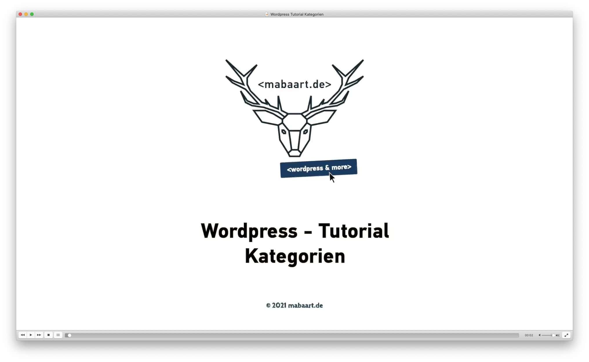 Vorschaubild Wordpress Tutorial Kategorien