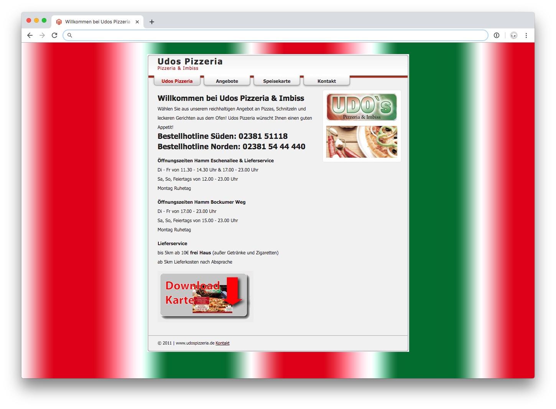 Bildschirmfoto alte Webseite Udos Pizzeria.jpg