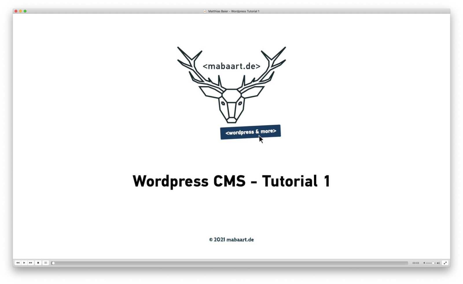 Wordpress Tutorial Vorschaubild