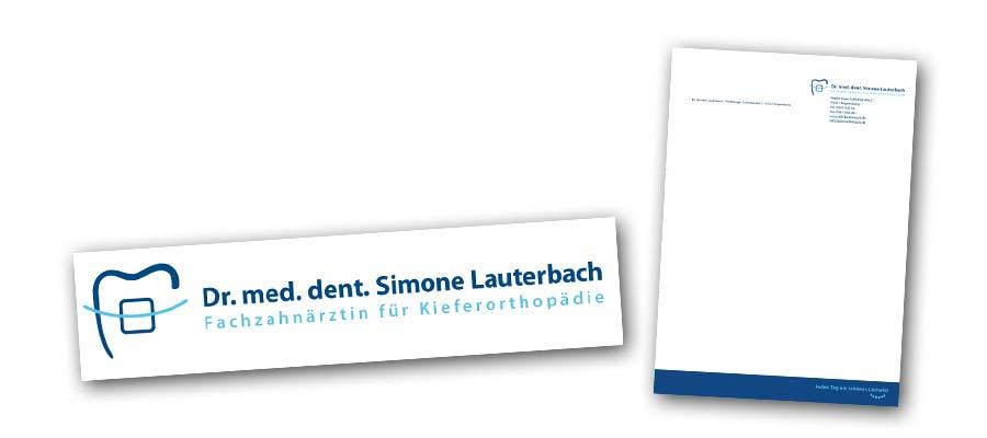 KFO Lauterbach Logo und Briefpapier