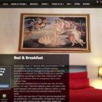 Bildschirmfoto der Webseite gestaltet mit dem WordPress CMS - isoco Guesthouse