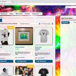 Bildschirmfoto Browser lightkitchen Onlineshop für Hologramme